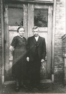 Lammert de Graaf en Geessien de Graaf-Etten, ca. 1950,