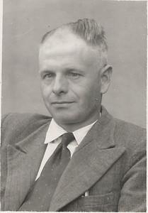 Meindert de Graaf (1915-1972) x Meidina Jantje Wilting (1919-1988), foto ca 1960