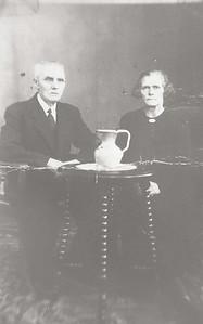 Derk de Graaf (1866-1945) en Minke Meijers (1877-1956)