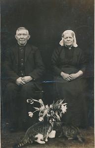 Harm Haak (1859-1938) en Jankje Schepers (1861-1936)