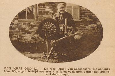 Grietje Jeens de Jong (1841-1929), 1927.