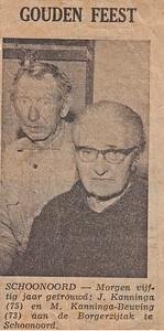 Jan Kanninga en Maria Kanninga-Beuving