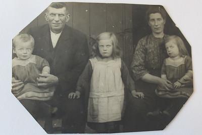 Gezin Harm Klinkhamer, foto ca 1926.