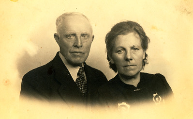 Hilbert Lieben (1879-1964) en Lammigje ten Wolde (1885-1954)