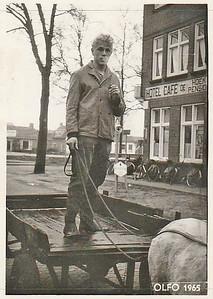 Henk de Lange op foto uit 1965
