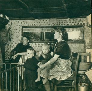 Gezin Klaas de Lange, 1950.