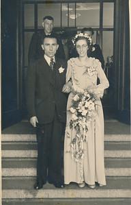 Albert van Lingen en Jantje Gebben (1927)