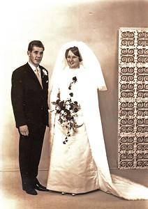 Bruidspaar de Lange-Lammers