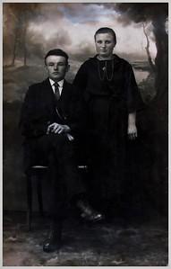 Hendrik Jan Leertouwer (1900-1966) en Roelfien Ottens (1902-1994)