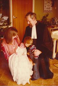 Ds Cornelis Maats (1932-2014) en zijn gezin