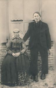 Klaas Schuiling (1834-1913) en Marchje Uiterwijk (1849-1916)