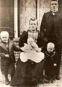 Fam. Berend Schuiling 1908