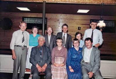 Twaalf-en-half jarig huwelijksfeest van Meeuwes Dolfing en Jannie Rossing