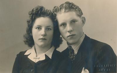 Frederik (Frits) Smid en Alberdiena (Dinie) Eiting