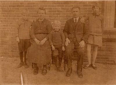 Fam. Berend Schuiling 1929