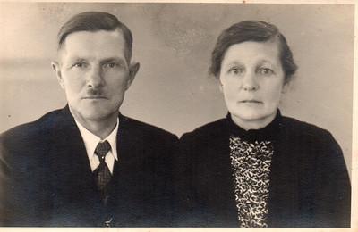 Albert Schippers (1887-1944) en Lammechina Dost (1889-1983)
