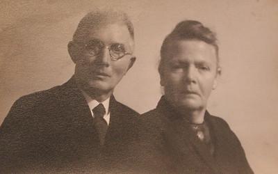 Berend Schuiling (1879-1960) en Wiegertje Krikke (1880-1962)