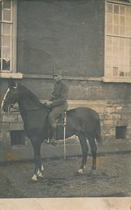 Jan Timmer in dienst, ca 1920