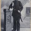 Willem Trip in militaire dienst, ca 1892.