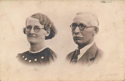 Jacob van Tellingen (1886-1942) en Trijntje Karst (1886)