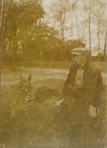 Jan Tijmes met hond