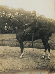 Jan van Tellingen als militair, foto ca. 1920.