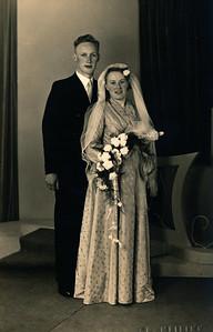 Harmannus van Tellingen en Johanna de Lange, 1954