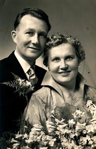 Berend Jan van Tellingen en Janna Jelies, 1954