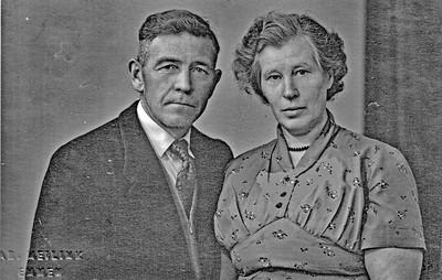 Echtpaar Harm Volkerts en Margje Volkerts-Visscher