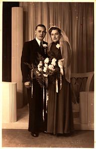 Trouwfoto echtpaar Vredeveld-Krikke