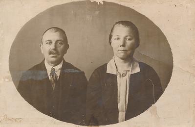 Roelof Vos (1873-na 1948) en Aukje Jongsma (1878-1948)