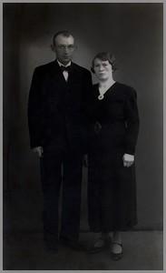 Albert Uiterwijk (1899-1980) en Jantina Hummel (1908-1992)