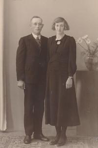 Tieme Vierhoven en Johanna Gebben, 1939