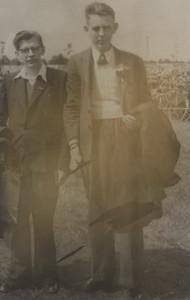 Hendrik Klinkhamer en Gienus Volkerts