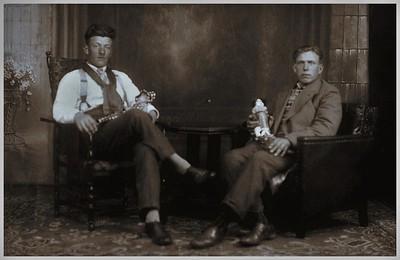 Harm Uiterwijk en Jan Vos