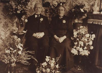 Gerardus de Wit en Annigje de Jong, ca 1915