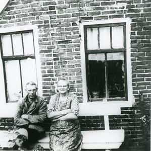Jan van der Wijk (1904-1988) en Sipkien Dokter (1902-1984)