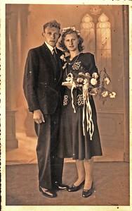 bruidspaar de Wit-Schuiling