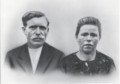 Henderikus Weggen en Frouwkje Snippe, ca 1925