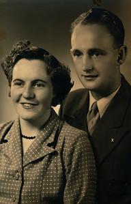 Luite ten Wolde (1928-1987) en Gezina Schuiling