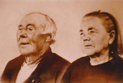 Roelf van der Wijk (1864-1942) en Jantje Bloeming (1867-)