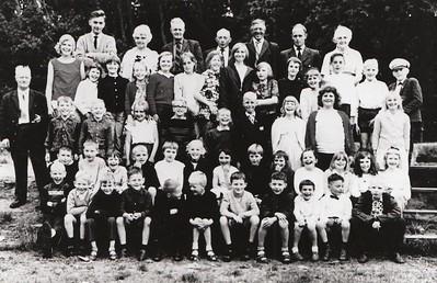 Schoolreisje CSV De Kiel, jaren 60