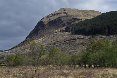 Near Tyndrum - on the way North