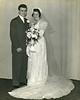 Charles and Betty Schreiner on their wedding day, Jan 1, 1942