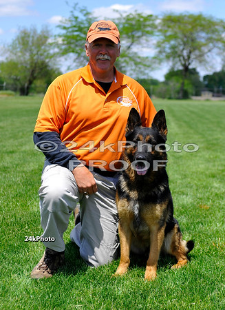 WDA National Schutzhund Champion 2010 Carl Smith and Bodo vom Flutgraben SchH3