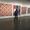 Three African-American quilts,  Sarah Mary Taylor(applique) and Anna Williams.