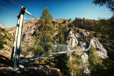 Hängebrücke Aspi - Titter