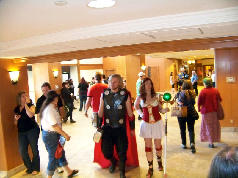 Attendees in Costume 12