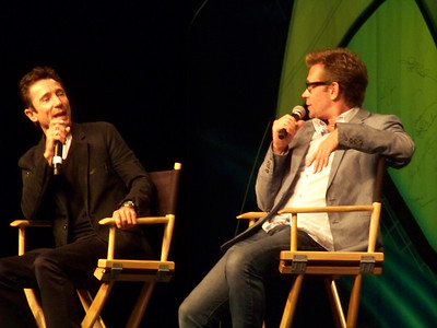 Dominic Keating and Connor Trinneer