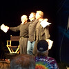 Armin Shimerman, Jeffrey Combs, and Casey Biggs performing Shakespeare.